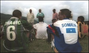 Elman electronic FC players Somalia football